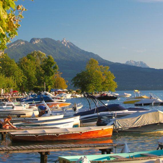 Photographie de paysages - Lac d'Annecy