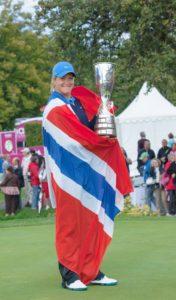 Championship de golf féminin en 2013 a Evian