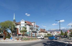 Immeuble construit a Annecy Haute Savoie logement standing ecologiques