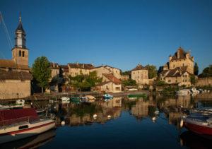 Yvoire village médiéval au bord du lac Léman