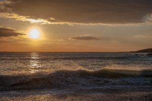 Couchers de solei a Audierne Finistère Bretagne