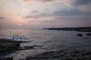 La côte sauvage a Quiberon en Bretagne