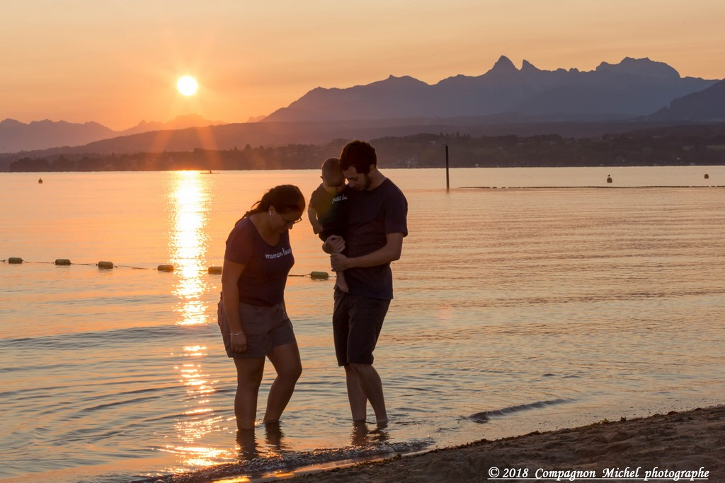 lac Leman,plage,shooting