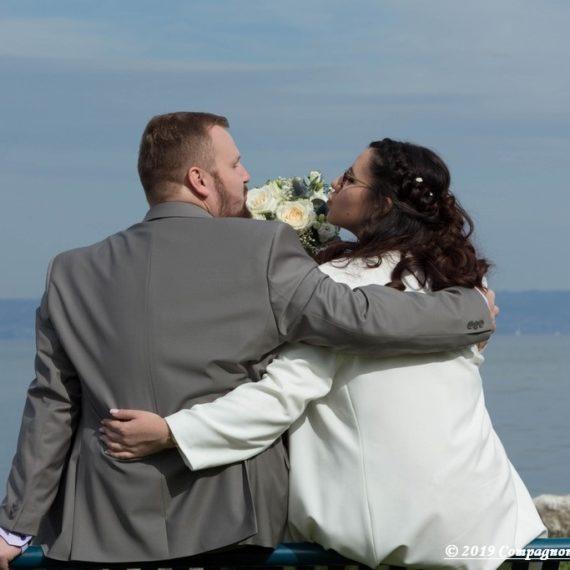 mariage en Haute-Savoie au bord du lac Léman